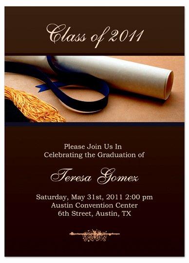 8 Best Of Graduation Printable Card Template