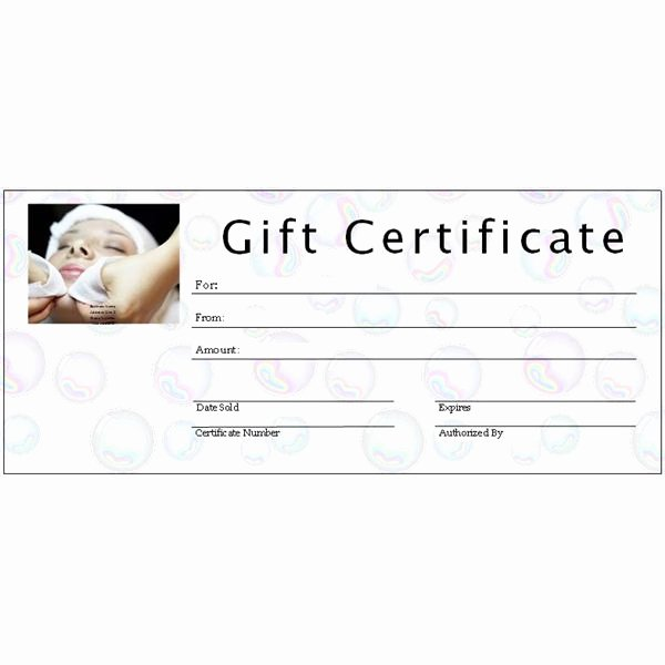 8 Best Of Graphy Gift Certificate Template