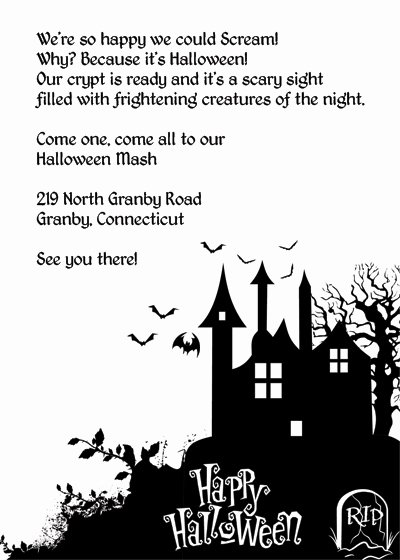 8 Best Of Haunted House Free Printable Flyer
