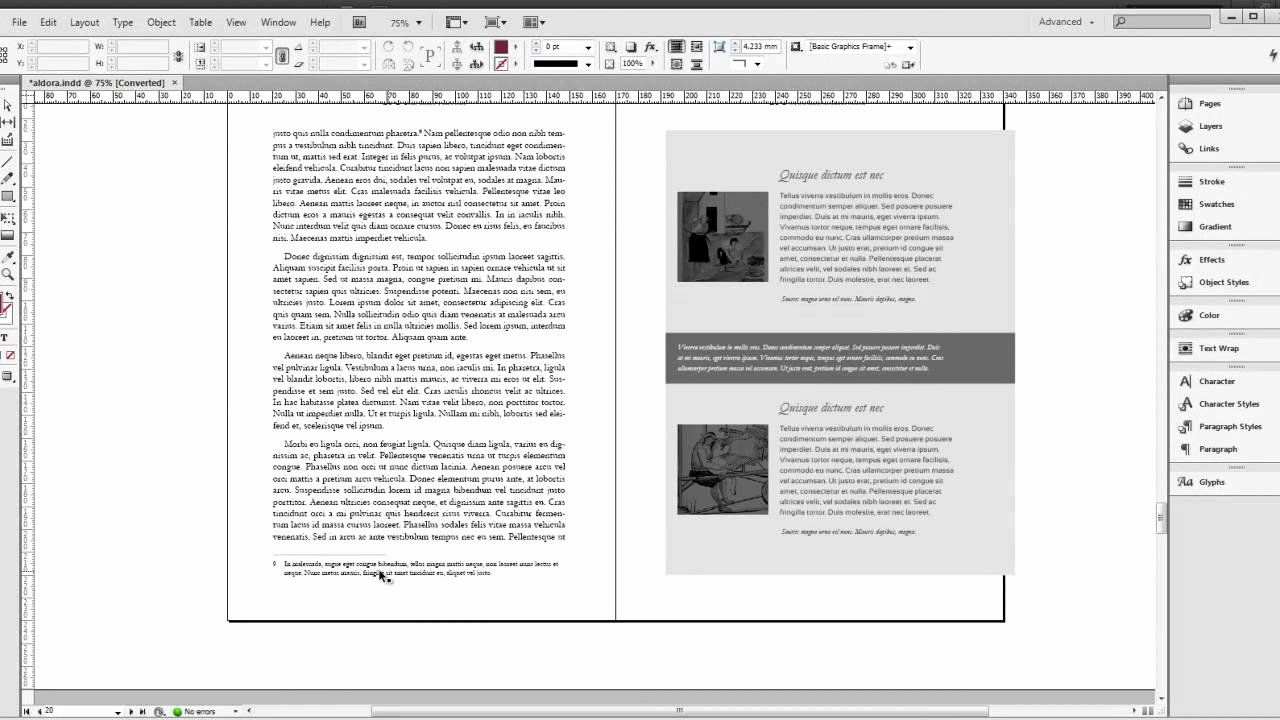 8 Best Of Indesign Cookbook Template Cookbook