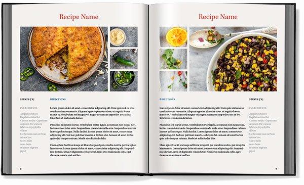 8 Best Of Indesign Cookbook Template Cookbook Template Recipe Book Adobe Indesign Book