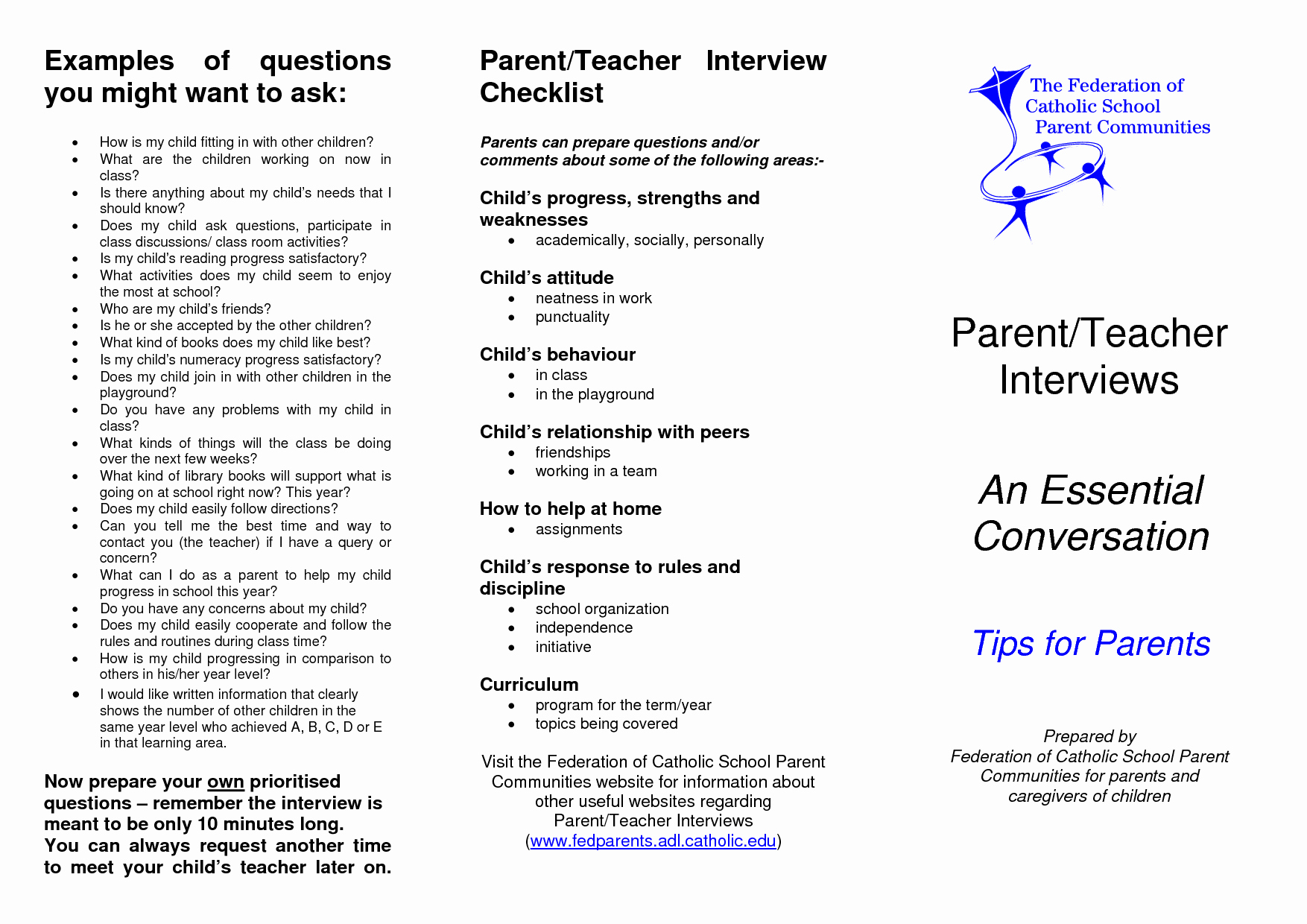 8 Best Of Parents as Teachers Brochure Family