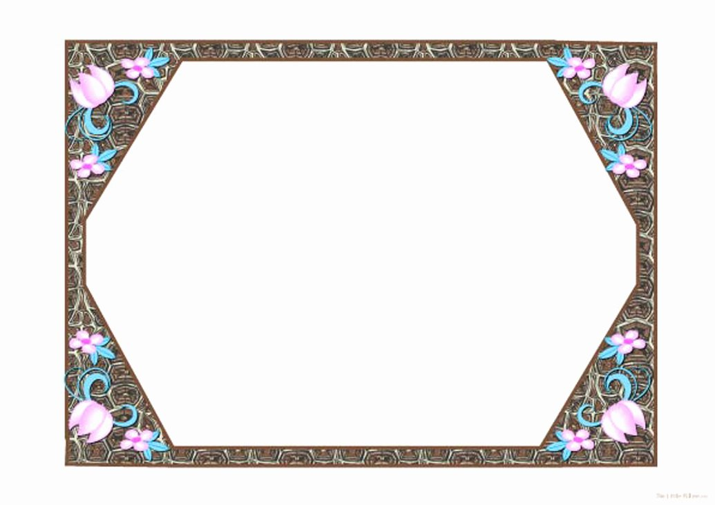8 Best Of Printable Picture Frames for Scrapbook