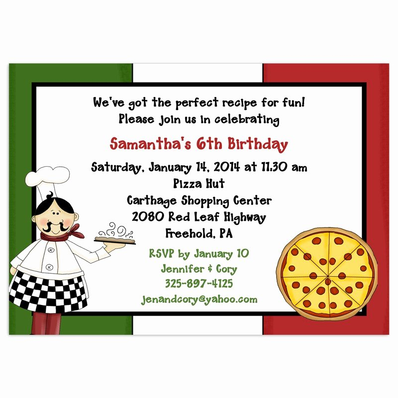 8 Best Of Printable Pizza Invitations Pizza Party