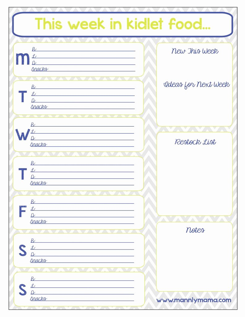 post printable preschool lunch menu
