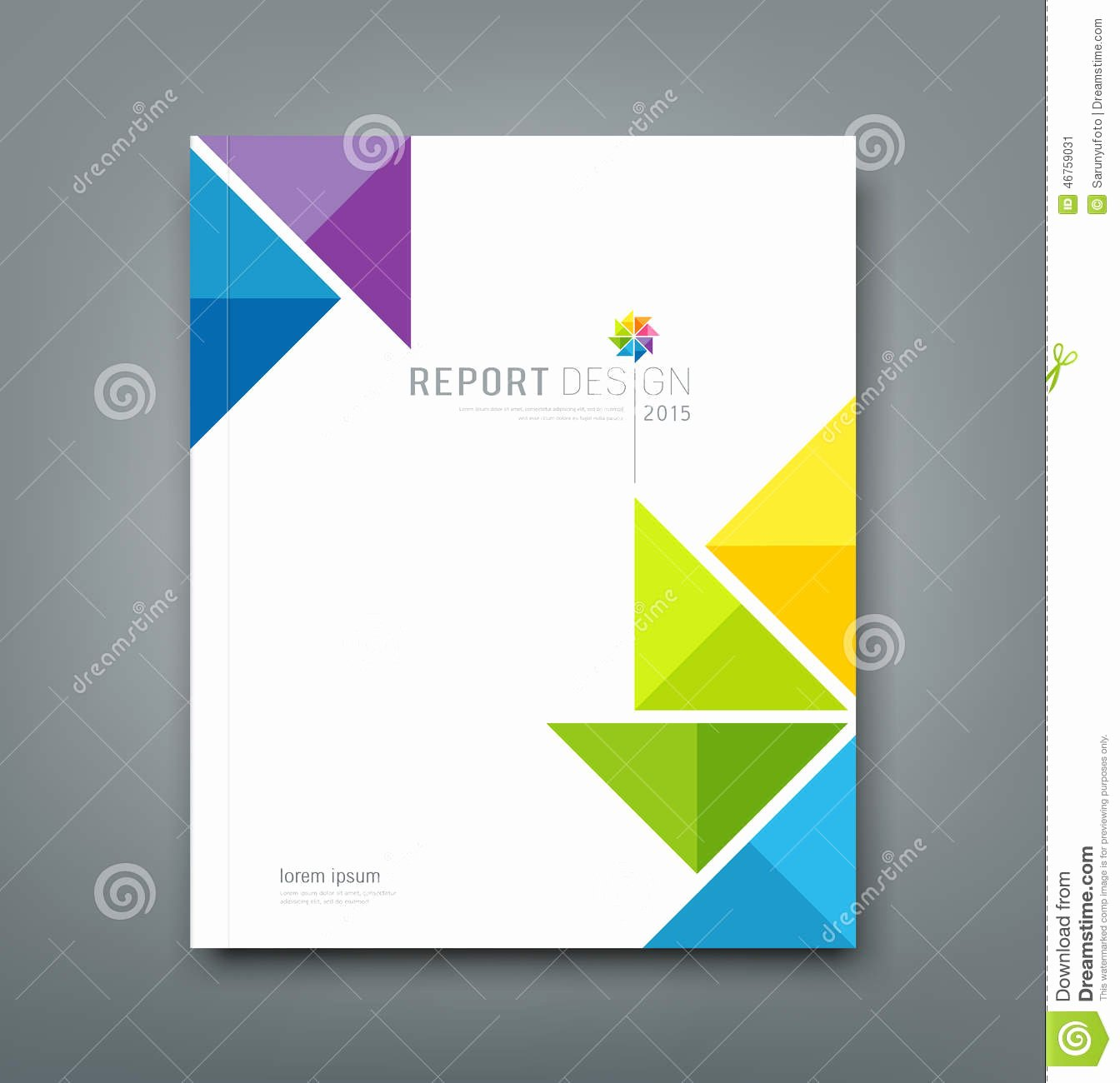 8 Best Of Report Cover Design Report Cover Page