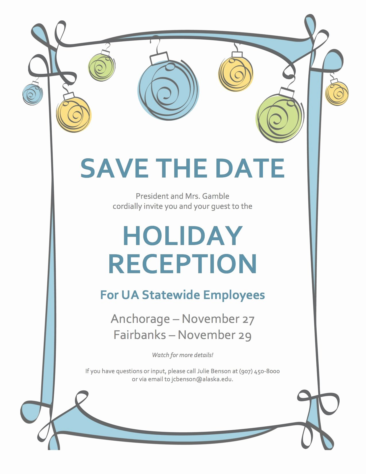 8 Best Of Save the Date Holiday Party Save the