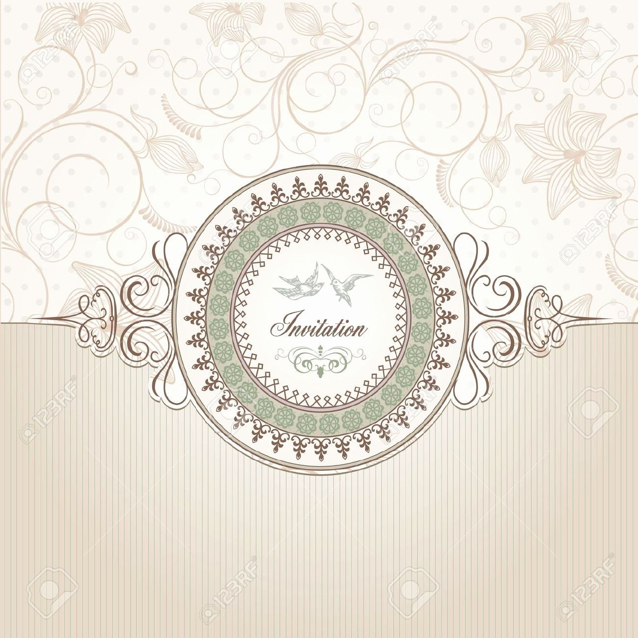 8 Best Of Vintage Wedding Invitation Background