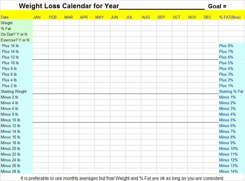 8 Best Of Weight Loss Planner Printable Free