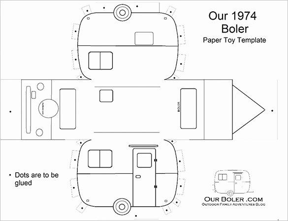 8 Best Paper Car Templates & Designs