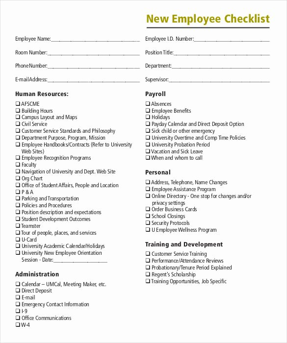 8 Boarding Checklist Samples and Templates – Pdf Word