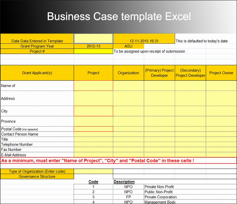 8 Business Case Template Free Word Pdf Excel Doc formats