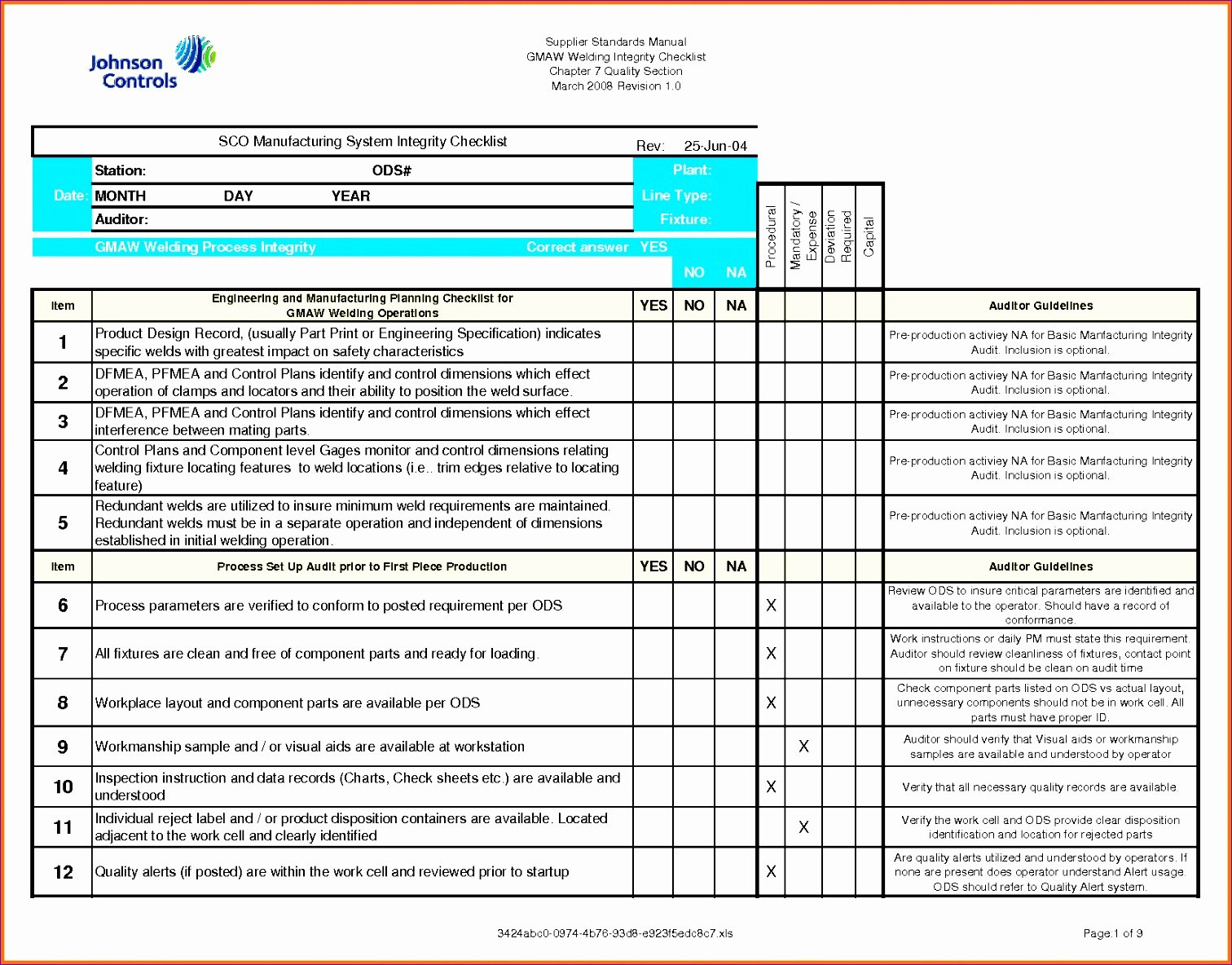 8 Check F List Template Excel Exceltemplates
