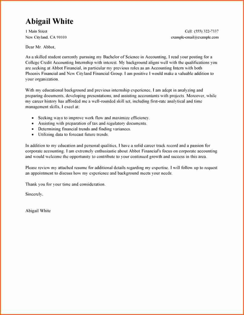8 Cover Letter for College Student Bud Template Letter