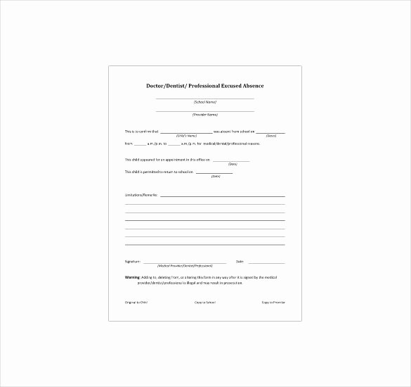 8 Doctor Note Templates – Free Sample Example Indesign