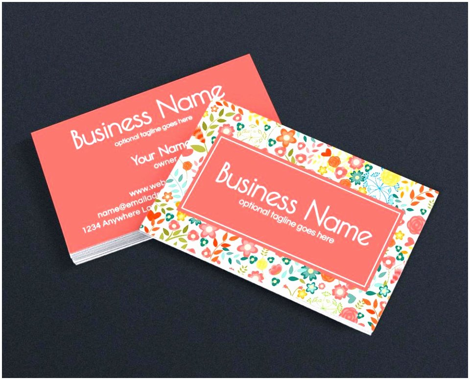 8 Double Sided Business Card Template Word Ytath