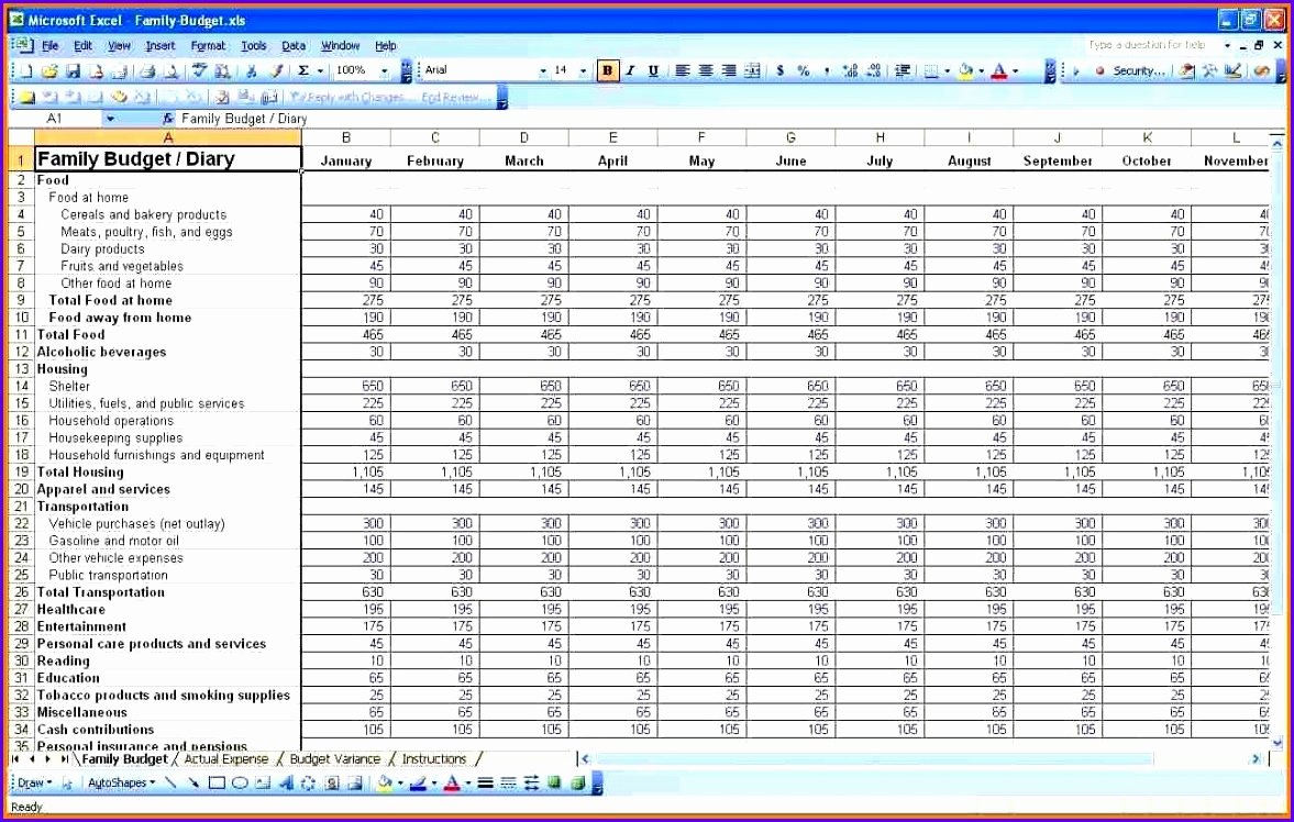 8 Expenses Template Excel Exceltemplates Exceltemplates