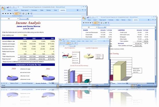 8 Financial Plan Templates Excel Excel Templates