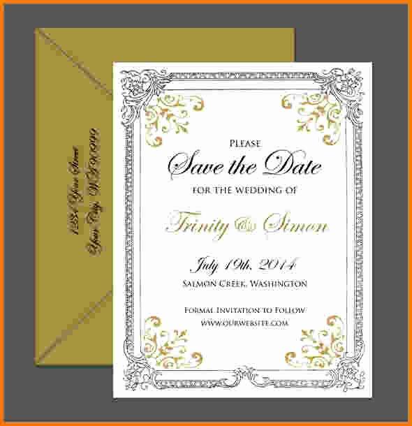8 formal Invitation Template