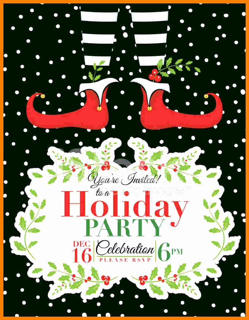 8 Free Christmas Party Invitation Templates