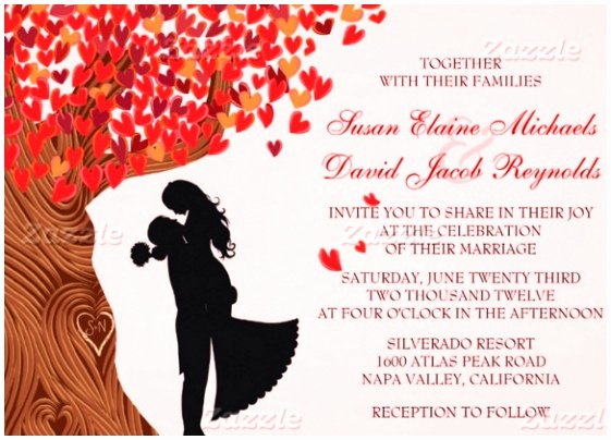 8 Free Fall Wedding Invitation Templates Rajra