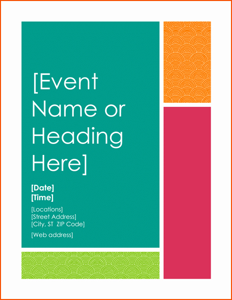 8 Free Flyer Templates for Word Bookletemplate