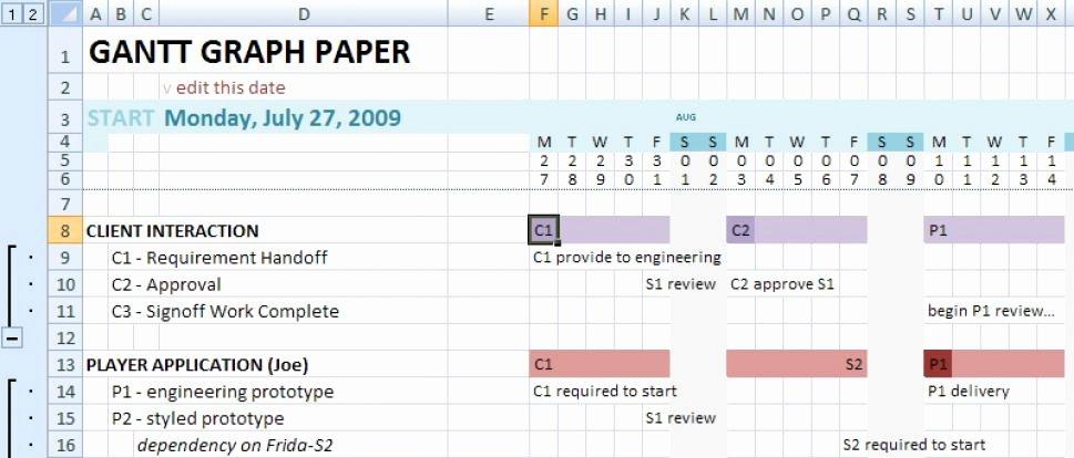 8 Gantt Chart Word Templates Excel Templates
