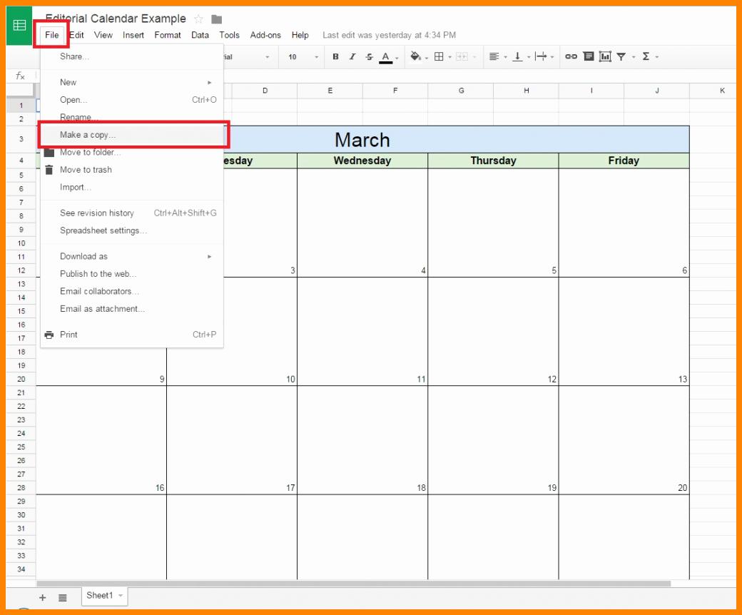 8 Google Docs Calendar Templates