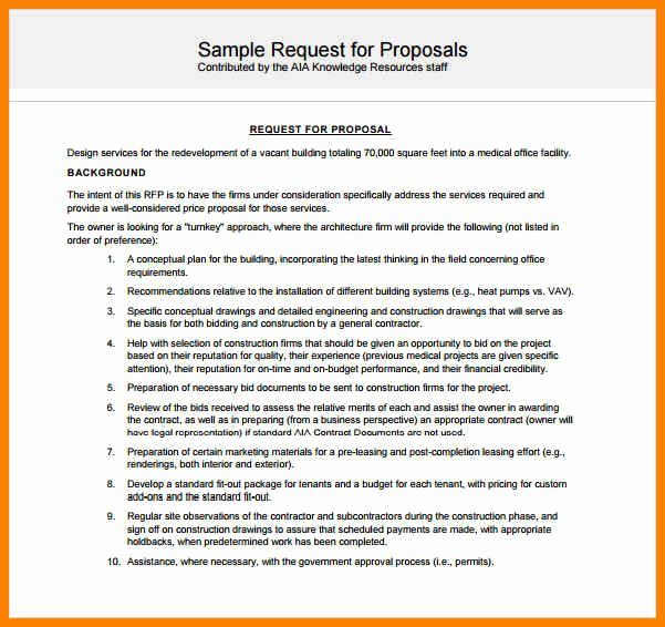 8 Government Proposal Sample