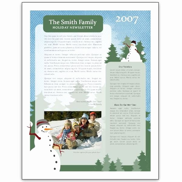 8 Great Microsoft Publisher Newsletter Templates