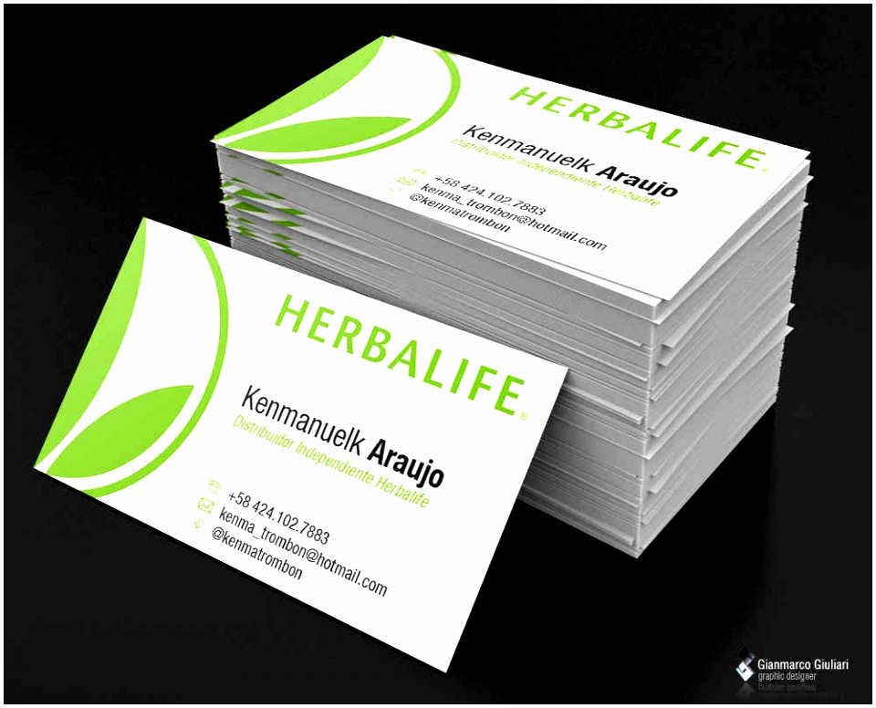 8 Herbalife Business Card Templates Uowyt