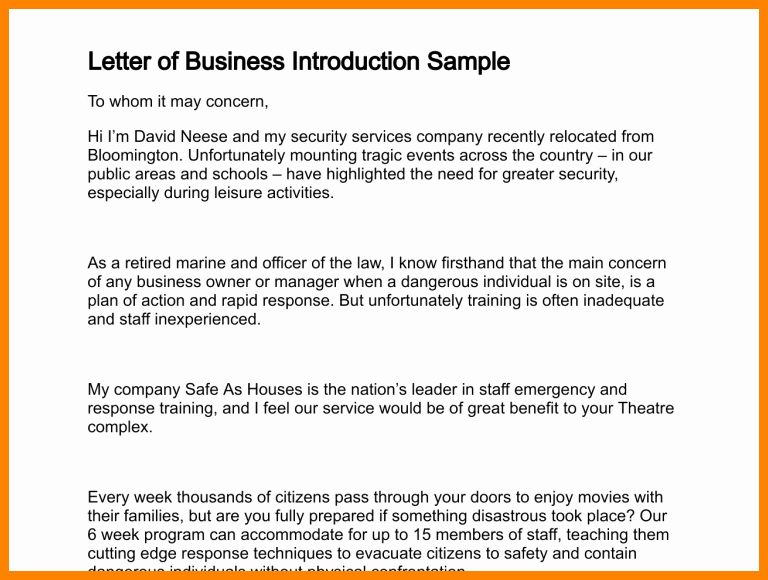 8 How to Write A Business Introduction Email