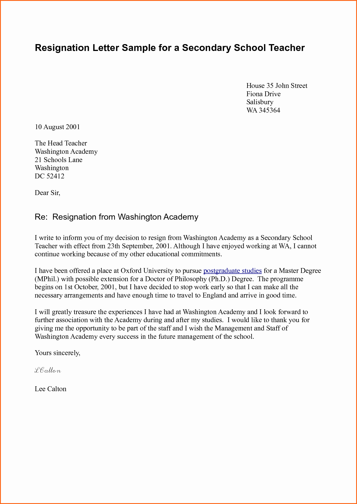 8 How to Write A Resignation Letter Template Bud