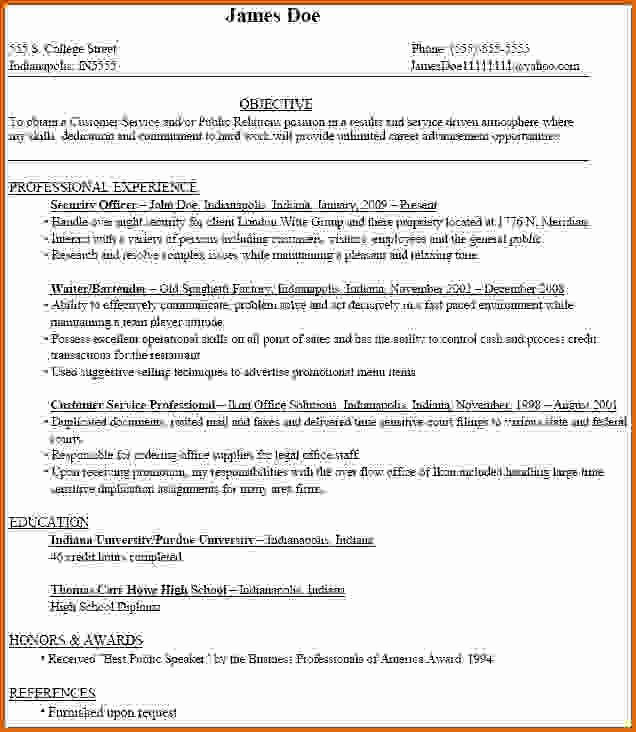 8 How to Write Student Resume