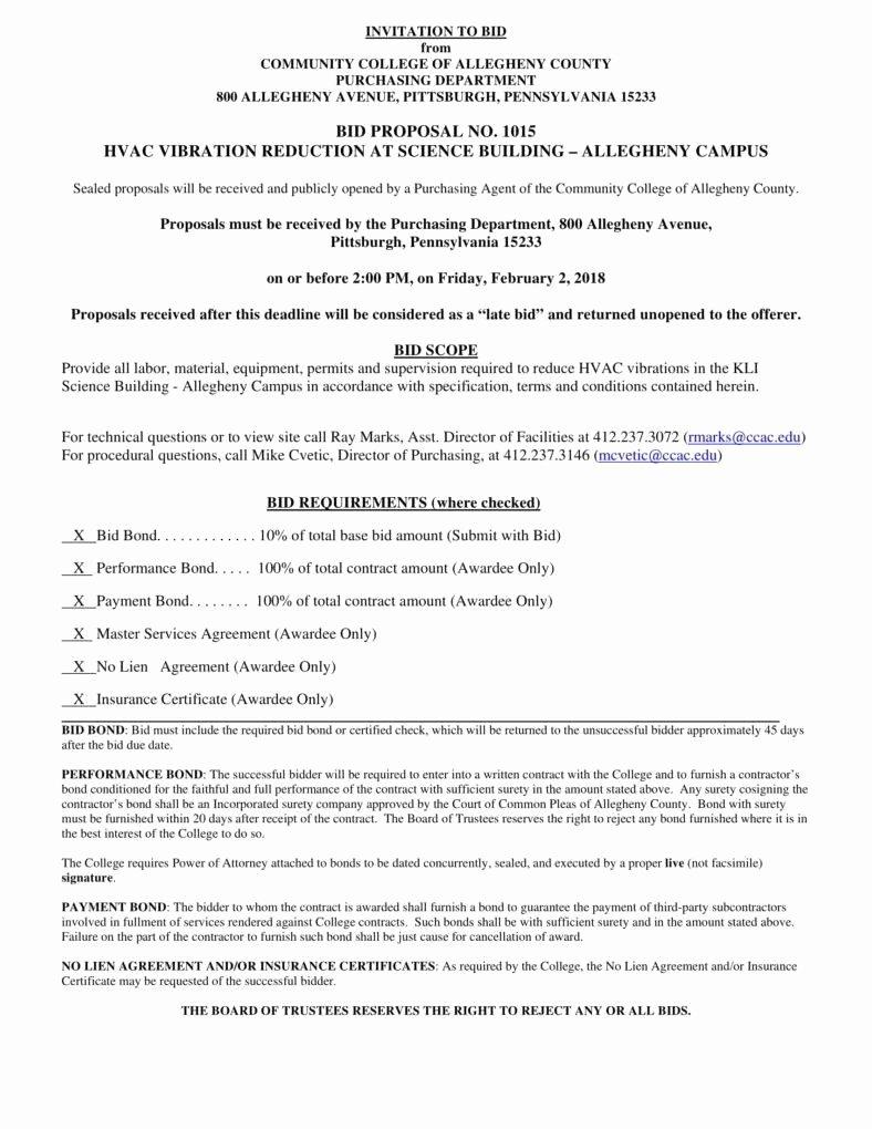 8 Hvac Proposal Templates Pdf