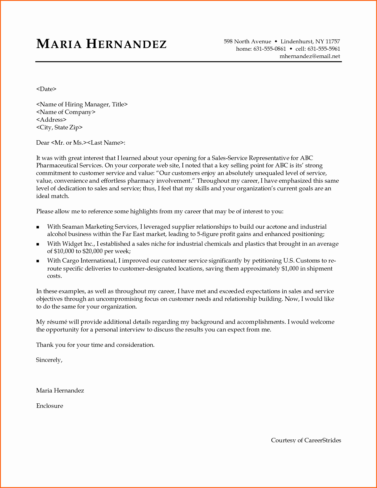 8 It Professional Cover Letter Bud Template Letter