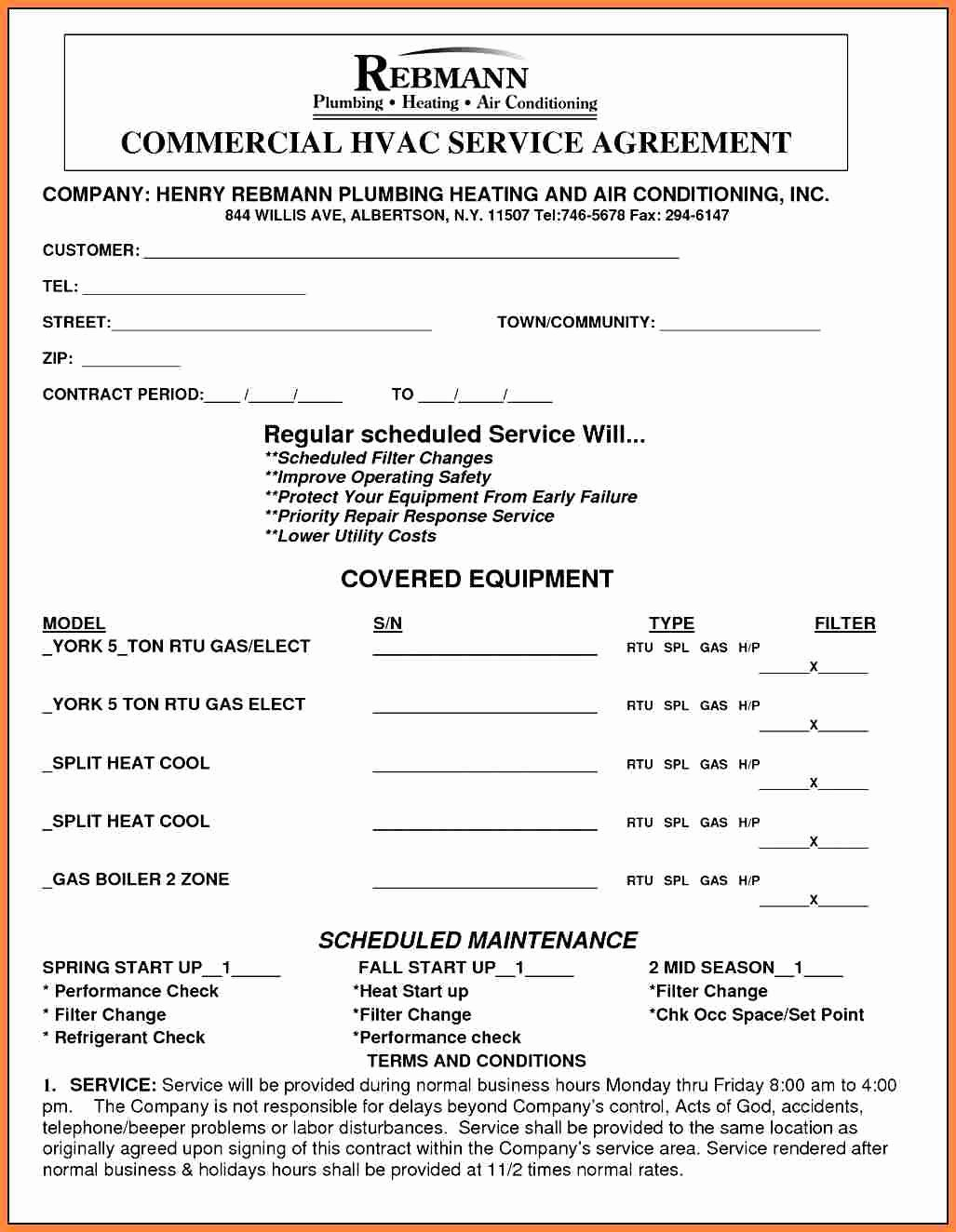 8 It Services Agreement Contract Template