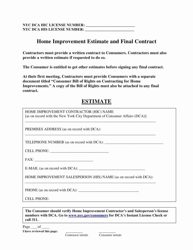 8 Job Estimate Templates Pdf Word Xls