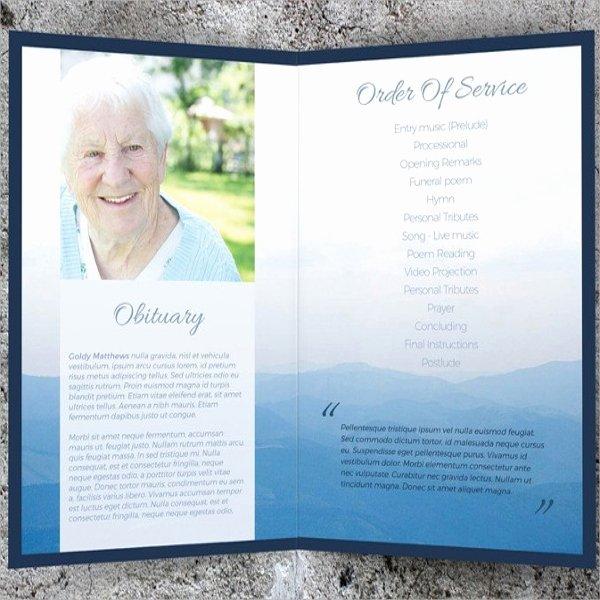 8 Memorial Card Templates
