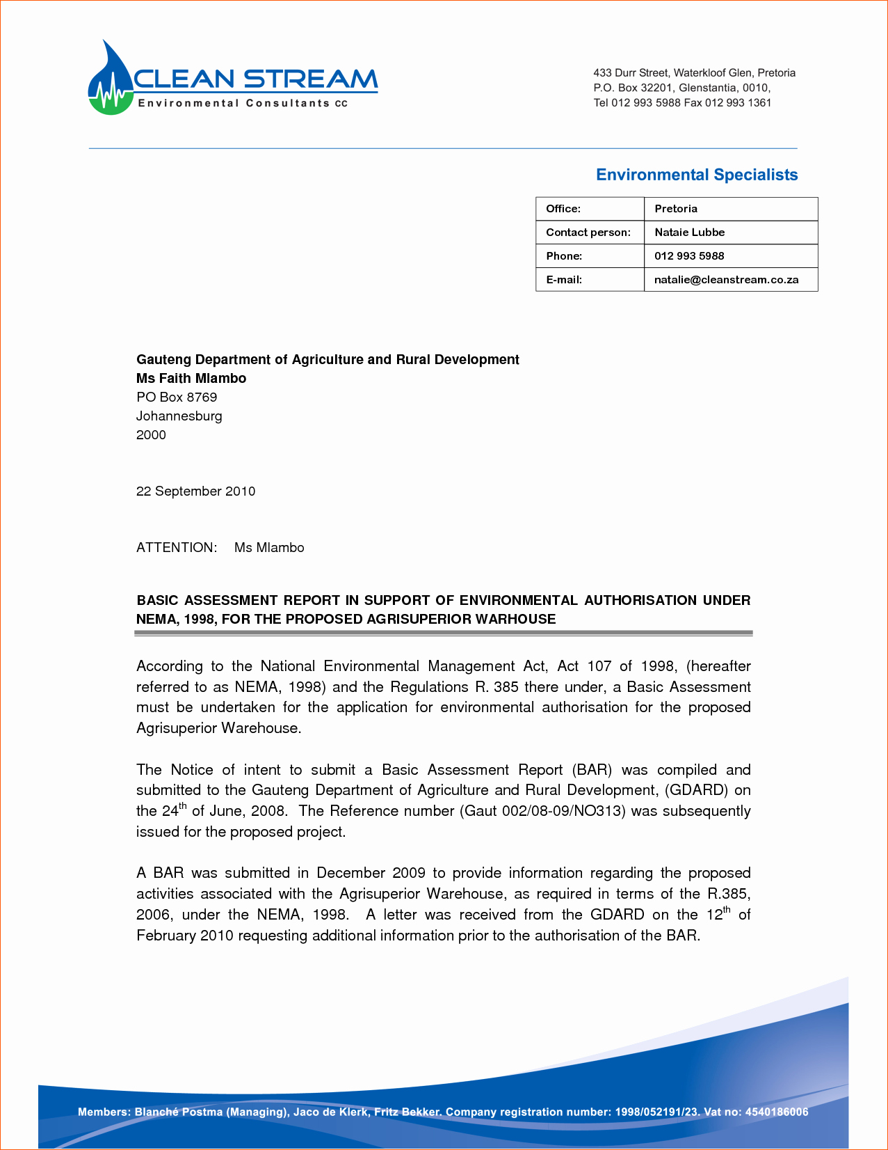 8 Microsoft Word Business Letter Template