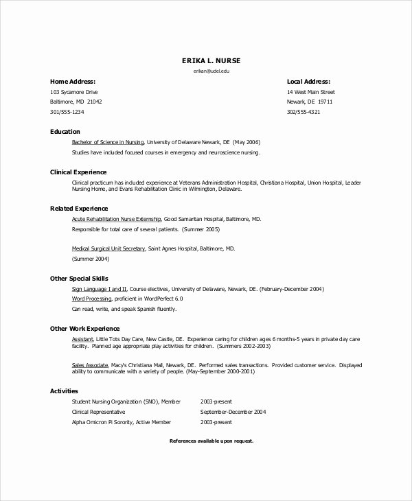 8 Nursing Resume Objectives