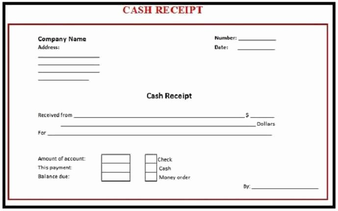 8 Payment Receipt Templates Word Excel Pdf formats