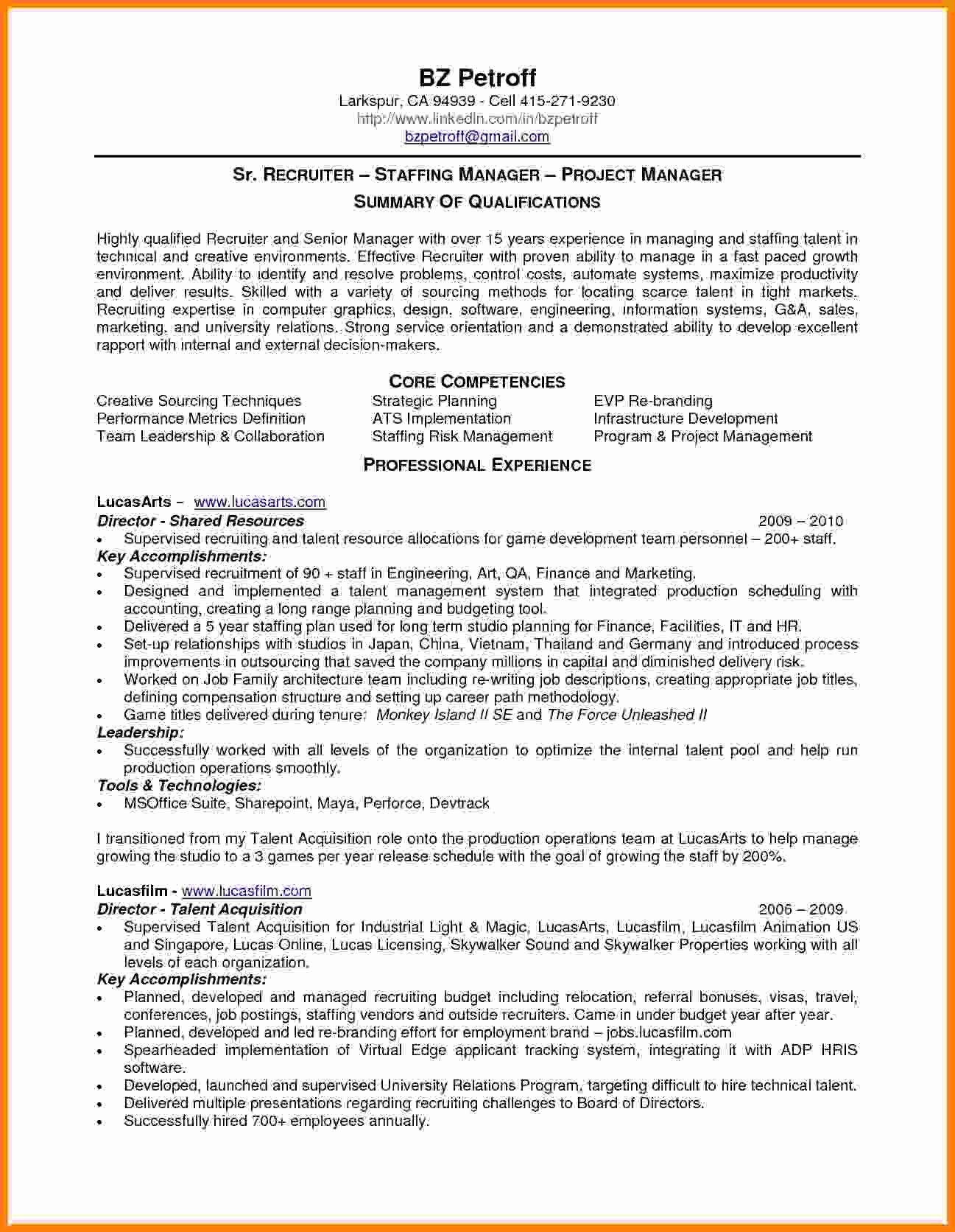 8 Payroll Manager Resume