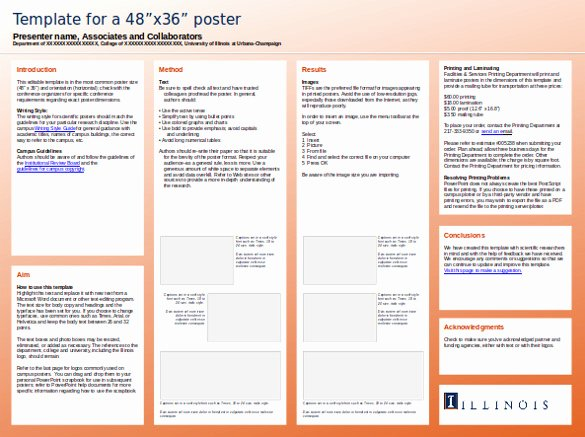 8 Powerpoint Poster Templates Ppt