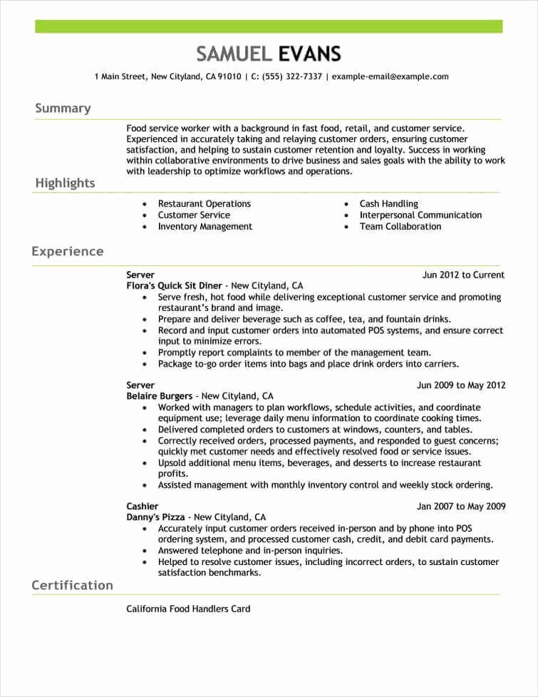 8 Professional Senior Manager & Executive Resume Samples