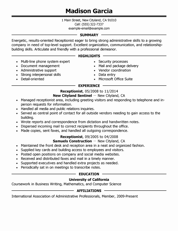 8 Professional Senior Manager & Executive Resume Samples
