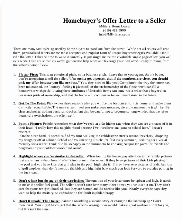 8 Real Estate Fer Letter Template 9 Free Word Pdf