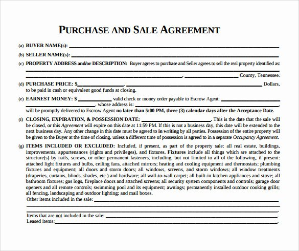 8 Real Estate Purchase Agreement Samples Templates