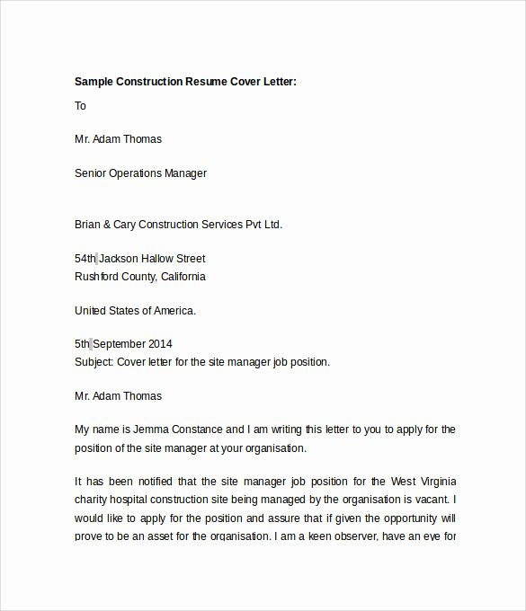 Document Control Specialist Cover Letter Sample – Latter ...