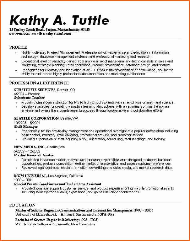 8 Resume Examples for College Students Bud Template